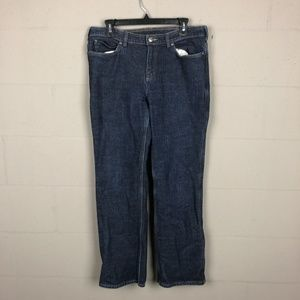 Duluth Trading Co. Women's Straight Leg Jeans Size